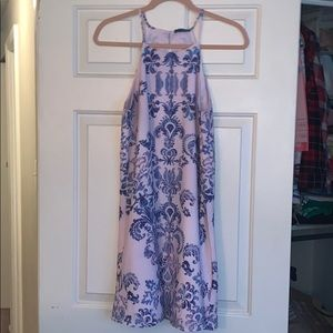 Blue design sundress